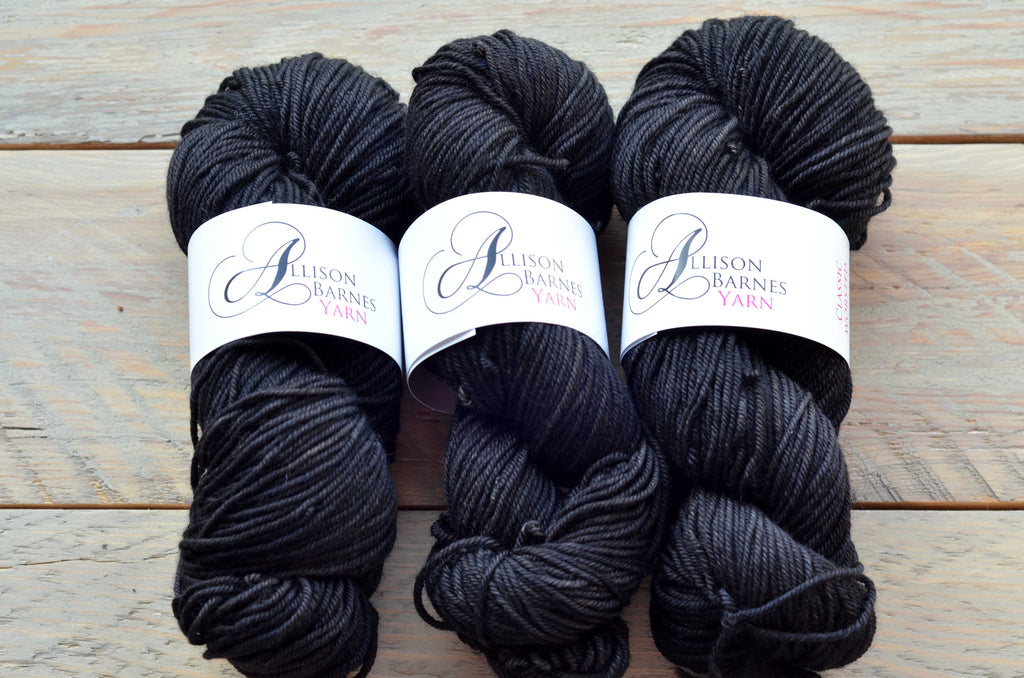 Paint it Black on Classic Worsted