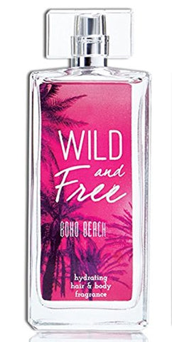 Wild and Free Hydrating Hair & Body Fragrance, 3.4 oz - Boho Beach