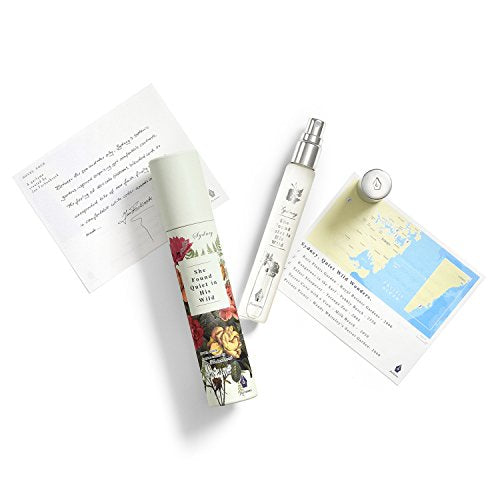 Fictions Mini Perfume Spray, 0.5 oz - Sydney. She found quiet in his wild.