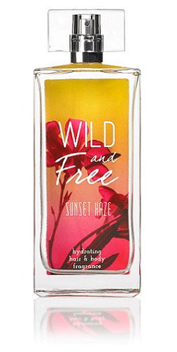 Wild and Free Hydrating Hair & Body Fragrance, 3.4 oz - Sunset Haze