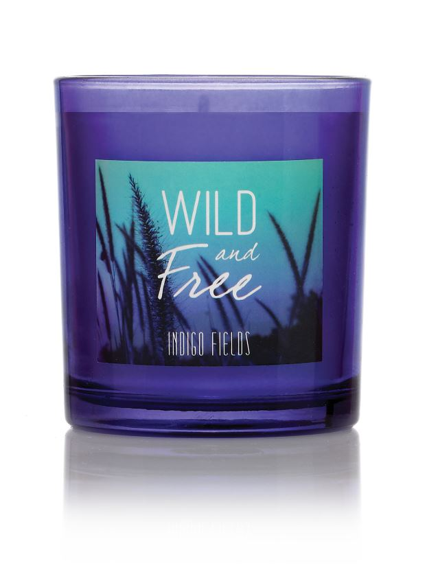 Wild & Free Indigo Fields Candle