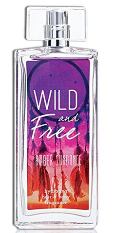 Wild and Free Hydrating Hair & Body Fragrance, 3.4 oz - Amber Sundance