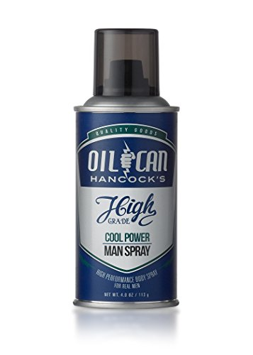 Oil Can Hancock's High Grade Man Spray, 4 oz - COOL POWER