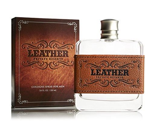 Leather Cologne Spray for Men, Cedarwood, Woody and Earthy - 3.4 oz | (2 pack)