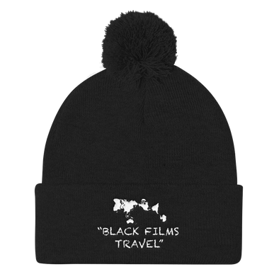 The Knit Beanie by Black Films Travel