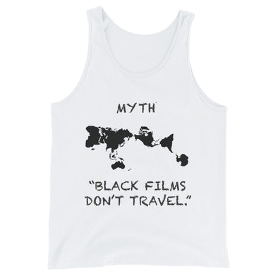 Men's Tank Top by Black Films Travel