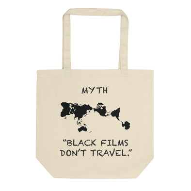 Eco Tote Bag by Black Films Travel