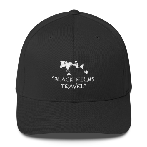 "Twill ""Flex"" Cap by Black Films Travel"