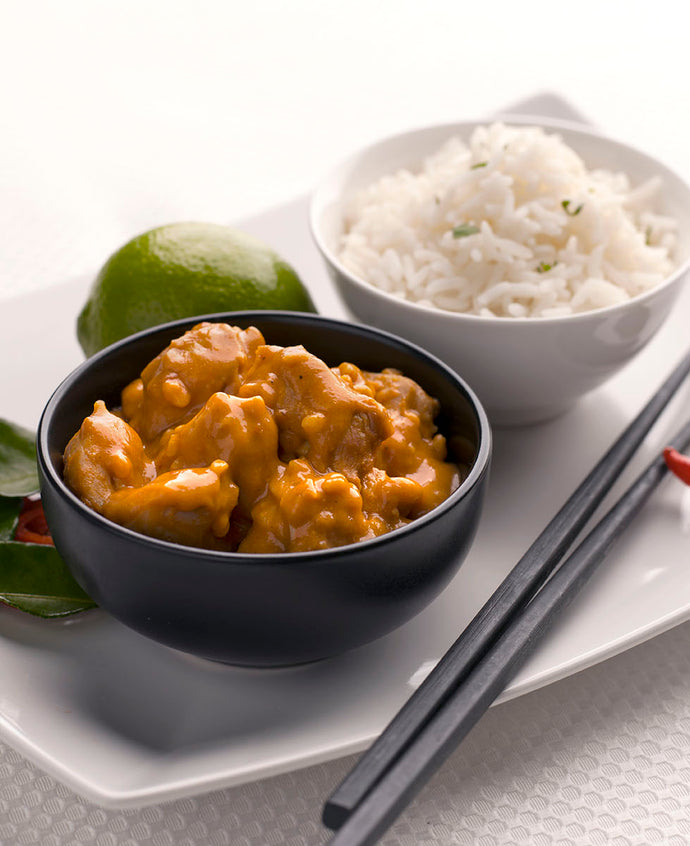 Aromatic Satay Chicken with Vegetable Rice - Large