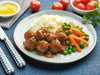 Wholesome Vegan Meatballs with Mash and Veg - Large