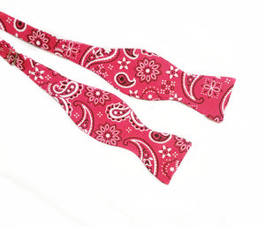 Red Bandana Bow Ties and Hair Bows By SweetLooks Collection - SweetLooks Collection