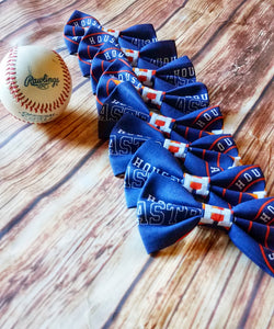 Houston Astros Bow Ties and Hair Bows - SweetLooks Collection
