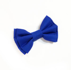 Blue Suspenders With Optional Bow Tie (or Hairbow) - SweetLooks Collection
