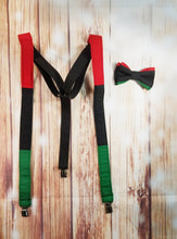 African Flag Suspenders - SweetLooks Collection