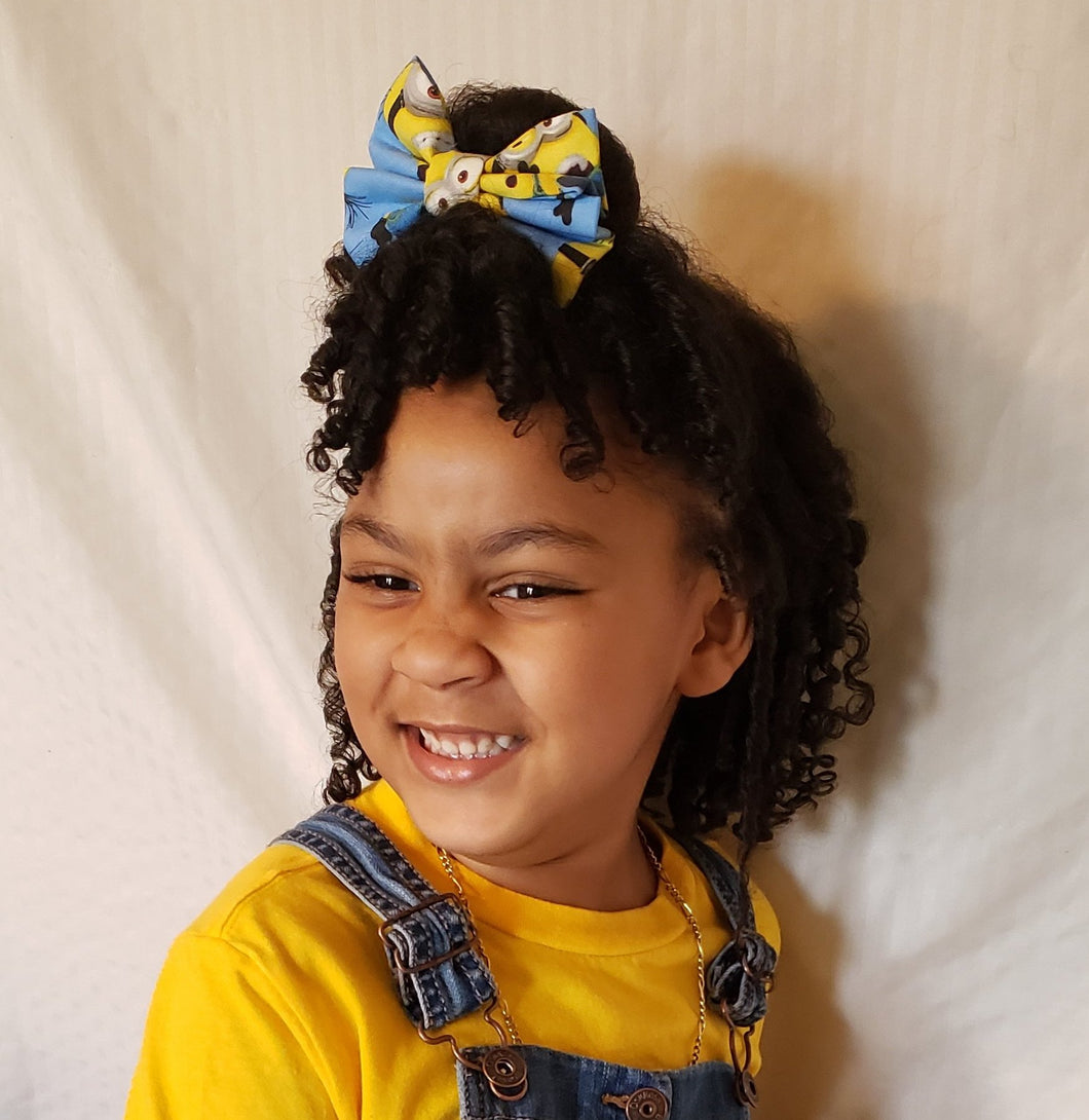 Minions Bow Ties and Hair Bows By SweetLooks Collection - SweetLooks Collection