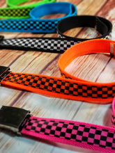 Neon Blue Checkered Belt By SweetLooks Collection - SweetLooks Collection
