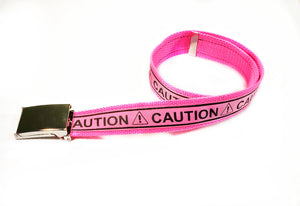 Neon Pink Caution Belt By SweetLooks Collection - SweetLooks Collection