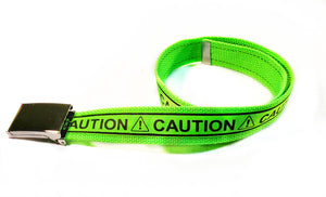 Neon Green Caution Belt - SweetLooks Collection