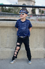 Navy Blue Bandana Belt By SweetLooks Collection - SweetLooks Collection