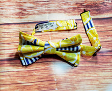 Lemon Bow Ties and Hair Bows By SweetLooks Collection - SweetLooks Collection