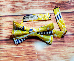 Lemon Bow Ties and Hair Bows - SweetLooks Collection