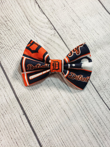 Detroit Tigers Bow Ties and Hair Bows - SweetLooks Collection