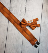 Burnt Orange Skinny Suspenders By SweetLooks Collection - SweetLooks Collection