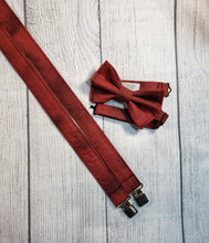 Burgundy Skinny Suspenders By SweetLooks Collection - SweetLooks Collection