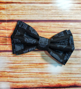 Black Panther Bow Ties and Hair Bows By SweetLooks Collection - SweetLooks Collection