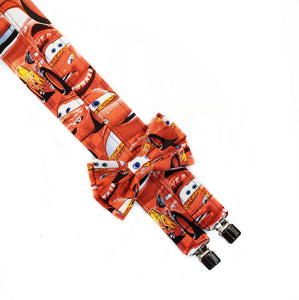 Lightning McQueen Cars Suspenders By SweetLooks Collection - SweetLooks Collection