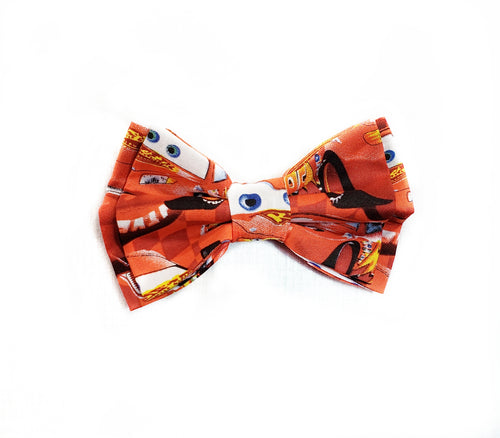 Lightning McQueen Cars Bow Ties and Hair Bows - SweetLooks Collection