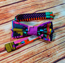 Bright Multicolored Kente Bow Ties and Hair Bows By SweetLooks Collection - SweetLooks Collection