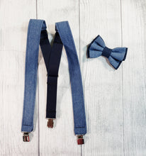 Blue Denim Suspenders - SweetLooks Collection
