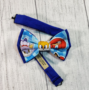 Sonic the Hedgehog Bow Ties and Hair Bows - SweetLooks Collection