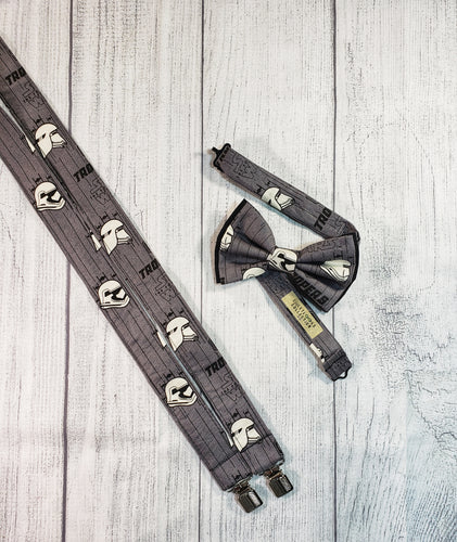 Star Wars Suspenders Gray By SweetLooks Collection - SweetLooks Collection
