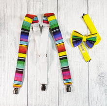 Bright Serape Suspenders By SweetLooks Collection - SweetLooks Collection