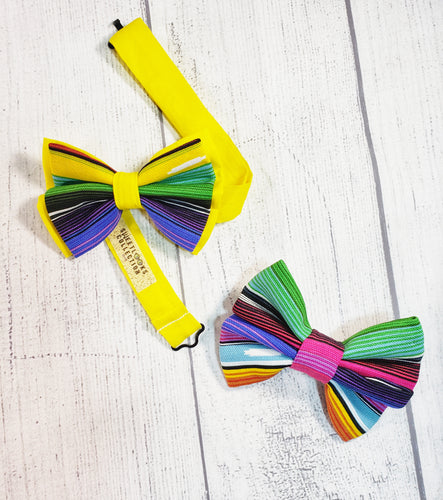 Bright Serape Bow Ties and Hair Bows By SweetLooks Collection - SweetLooks Collection