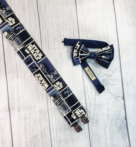 Star Wars Suspenders Blue By SweetLooks Collection - SweetLooks Collection