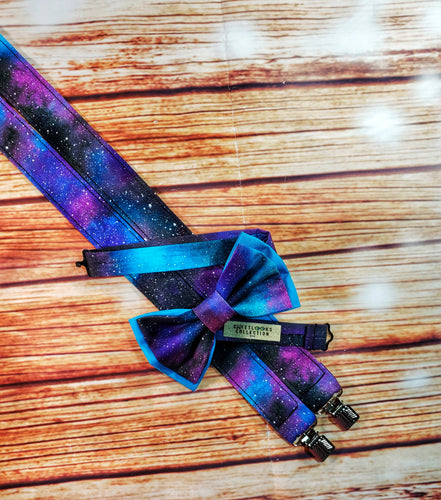 Deep Space Galaxy Suspenders - SweetLooks Collection