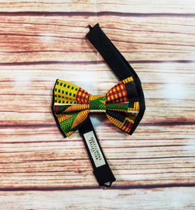 African Yellow Kente Suspenders By SweetLooks Collection - SweetLooks Collection
