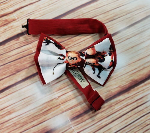 The Incredibles Bow Ties and Hair Bows By SweetLooks Collection - SweetLooks Collection