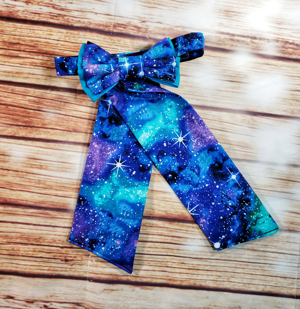 Blue Galaxy Adjustable SweeTie - Dapper Xpressions