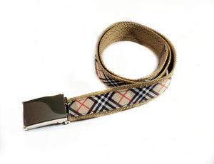 Burberry Inspired Plaid Belt By SweetLooks Collection - SweetLooks Collection