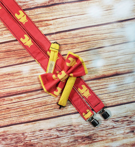 Iron Man Suspenders By SweetLooks Collection - SweetLooks Collection