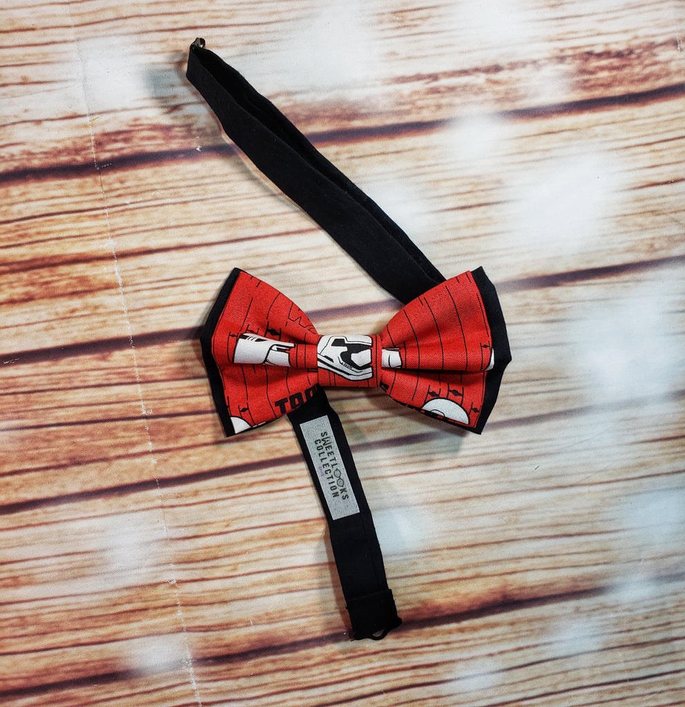 Star Wars Storm Troopers Red Bow Ties and Hair Bows - Dapper Xpressions