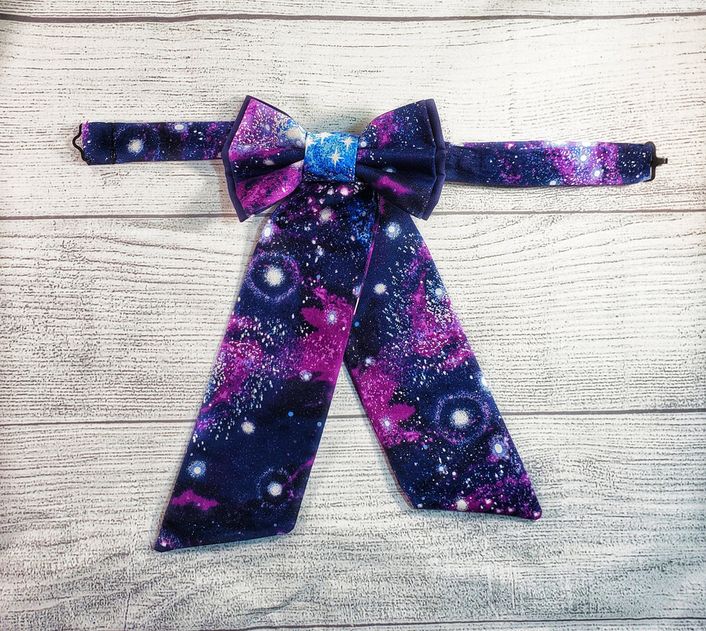 Glitter Galaxy Adjustable SweeTie - Dapper Xpressions