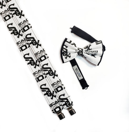 Chicago White Sox Suspenders By SweetLooks Collection - SweetLooks Collection