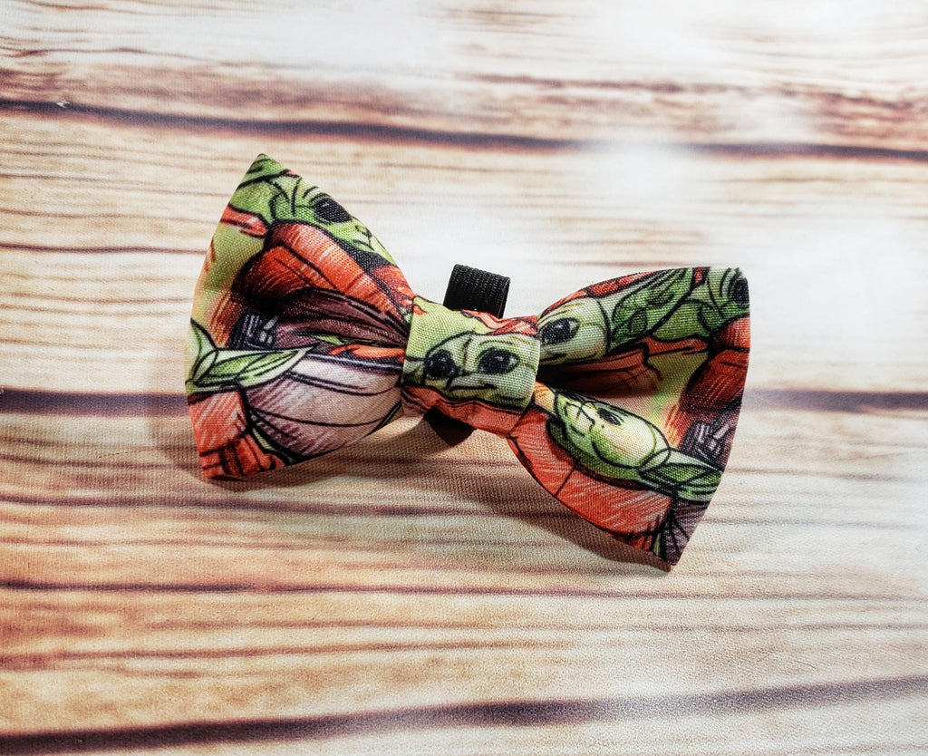 Baby Yoda Pet Bow Tie - Dapper Xpressions