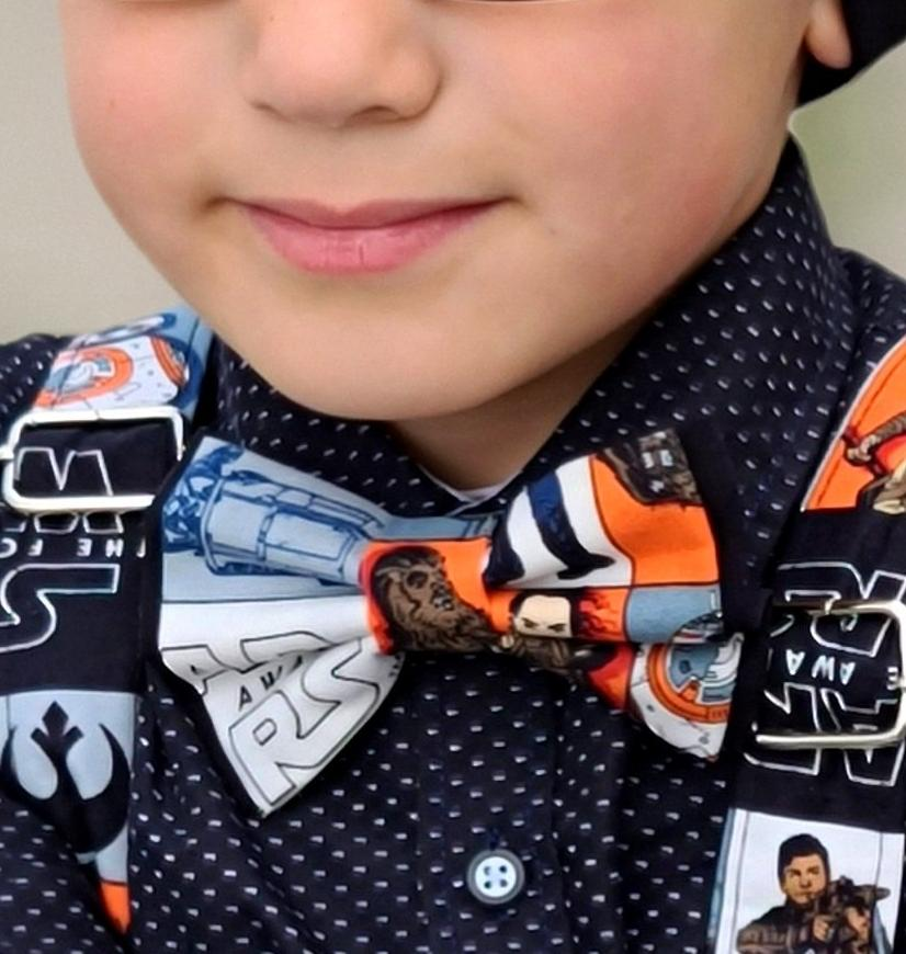 Star Wars Bow Ties and Hair Bows Multicolored - Dapper Xpressions