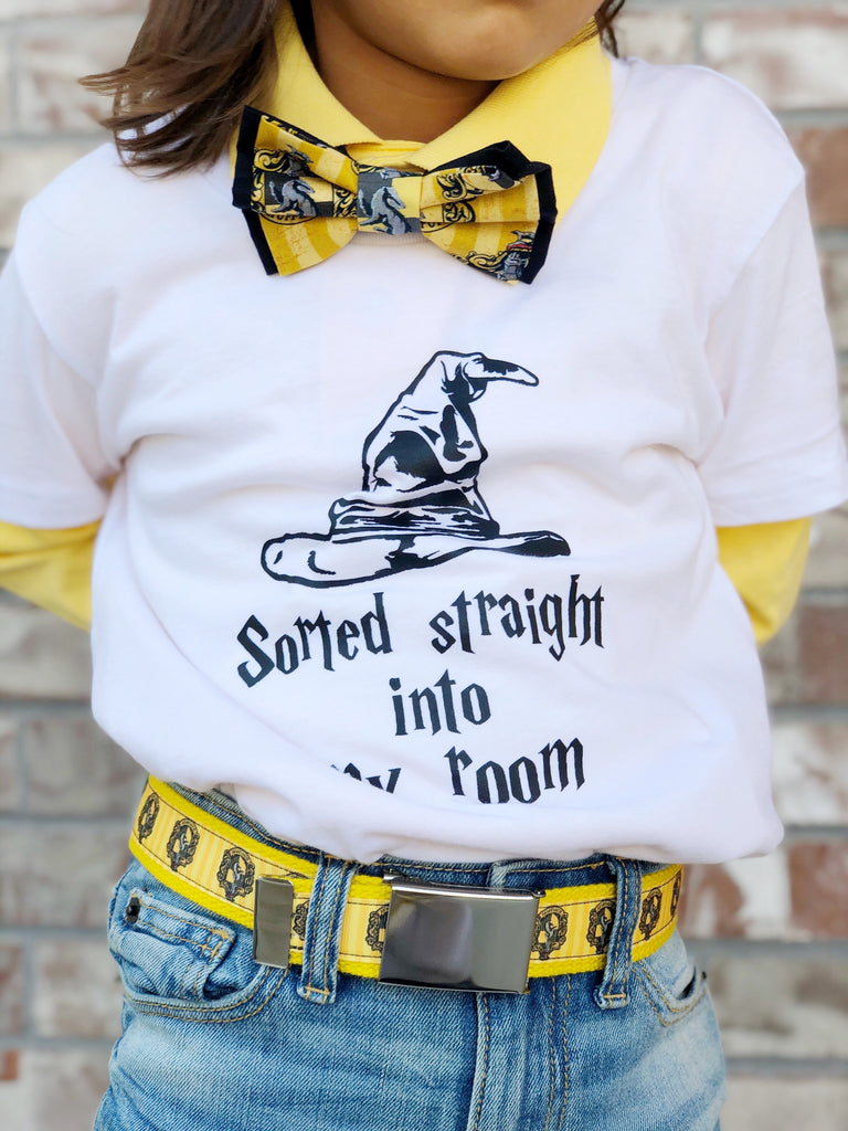 Harry Potter Hufflepuff Belt - Dapper Xpressions